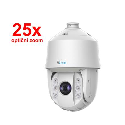 IP Kamera-HiLook 2.0MP PTZ zunanja POE PTZ-N5225I-AE speed dome 25x zoom
